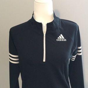 ADIDAS ~ Boys Adidas Half Zip Pullover